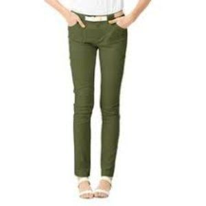Kate Spade Saturday Green Utility Pants 0